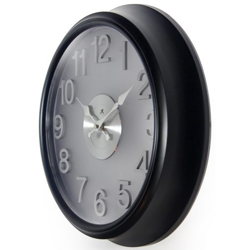 from left side 15 inch wall clock onyx