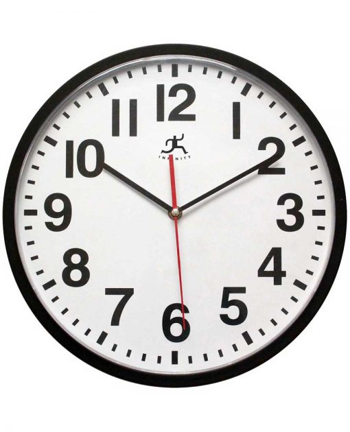 15018BK-4017 office wall clock basic simple