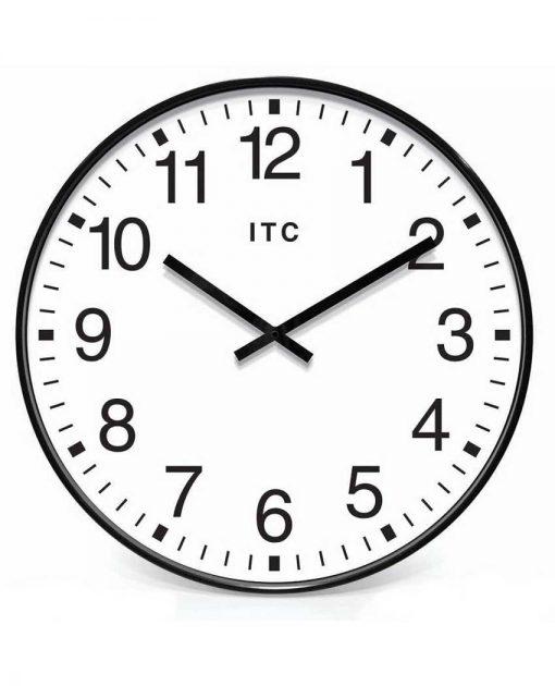 19.375 inch Profuse Black Resin Wall Clock