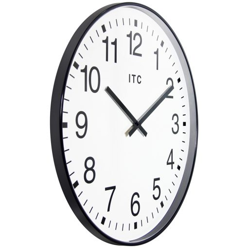 from right side black profuse wall clock 20 inch