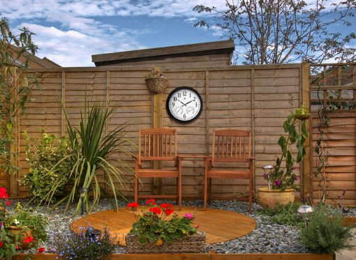 environmental indoor outdoor wall clock
