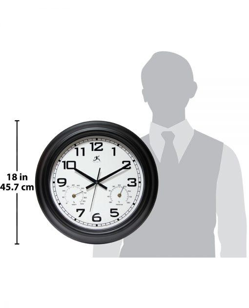 for scale garden indoor outdoor wall clock