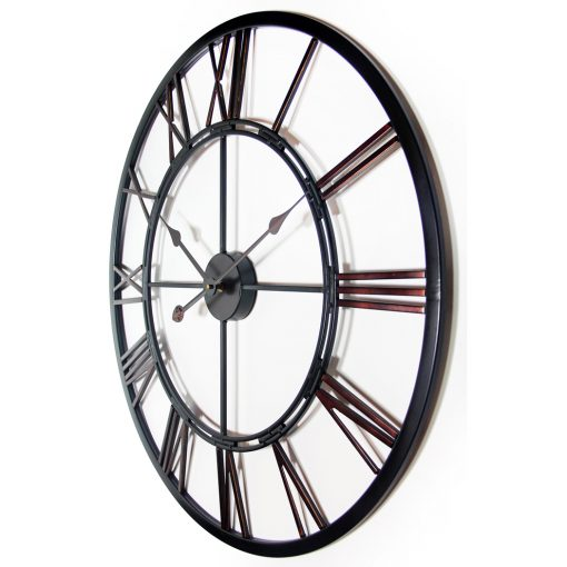 from left side metal fusion extra large oversized xxl wall clocks 28 inch