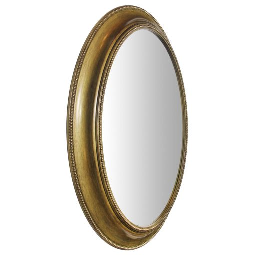 decorative gold wall mirror 30 inch oval