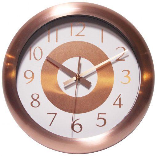 15449CP-2651WH copper wall clock