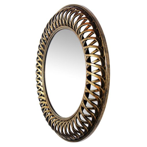 from left side gold lattice mirror 22 inch