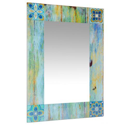large rectangular wall mirror