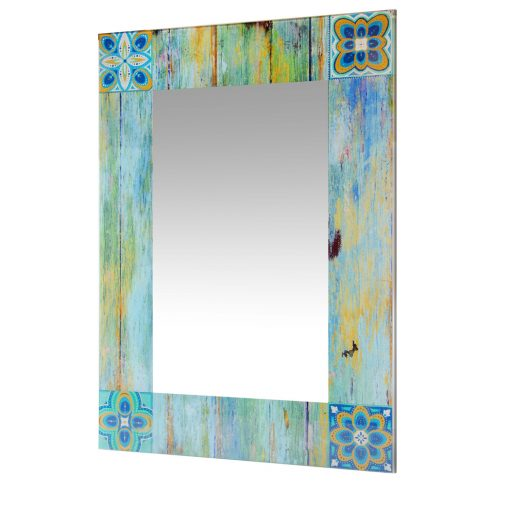 from left side country mosaic wall mirror