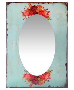 shabby chic wall mirror front decorative