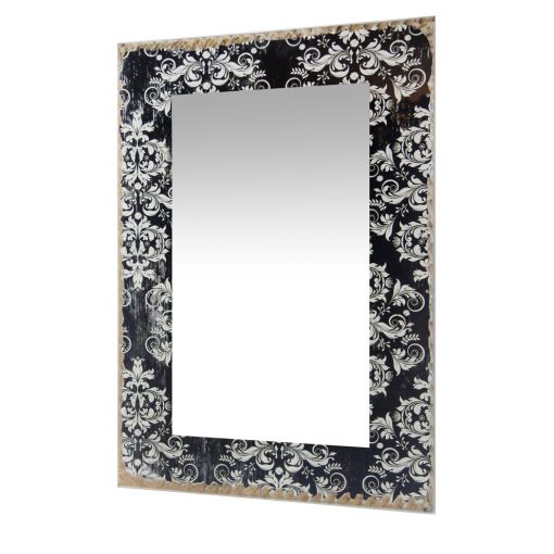 from left side damask french country wall mirror