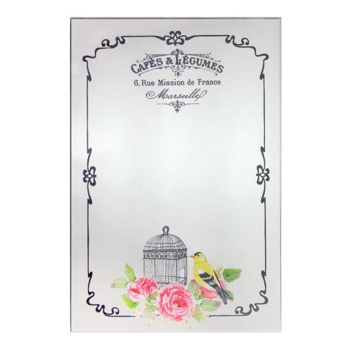 french country cafe wall mirror