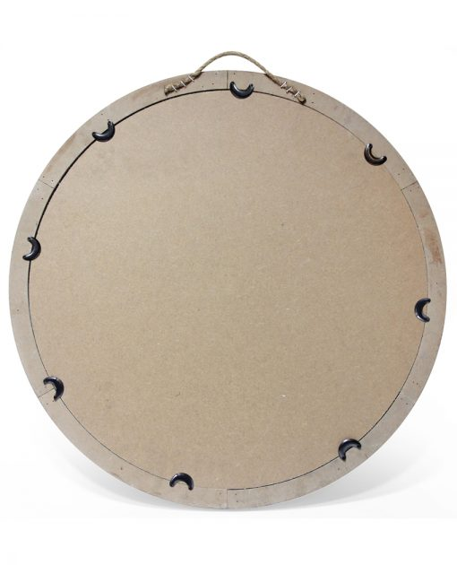 back of blue wall mirror 24 inch