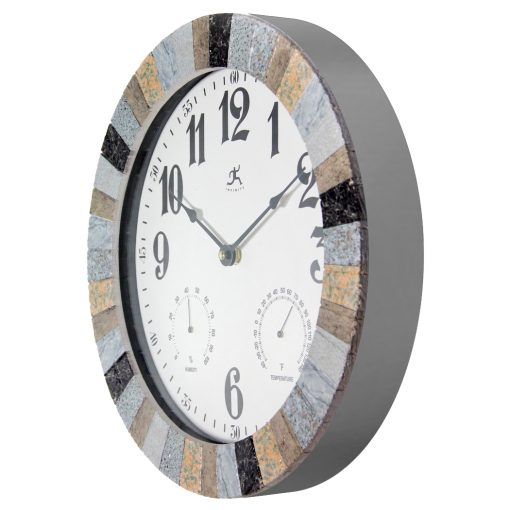 mason multi color indoor outdoor wall clock from left