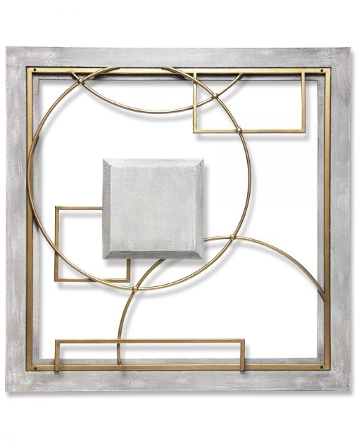 square provincial abstract wall decor front view