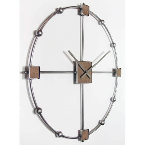 left view of large odyssey modern wall clock