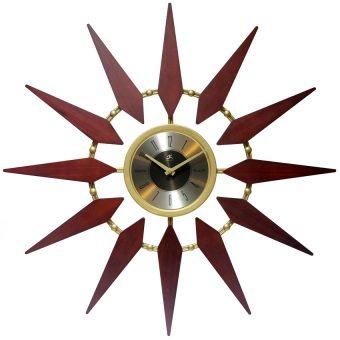 mid century modern large wall clocks decorative
