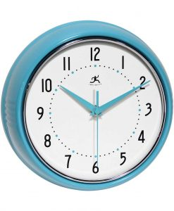 Round Retro Kitchen Clocks