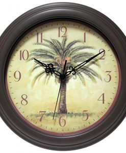 Palm Tree Wall Clock kitchen