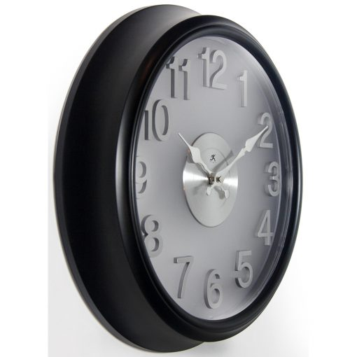 from right side black wall clock 15 inch