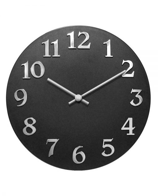 13392Bk vogue wall clock
