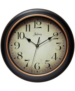 Large Round Precedent Wall Clock kitchen