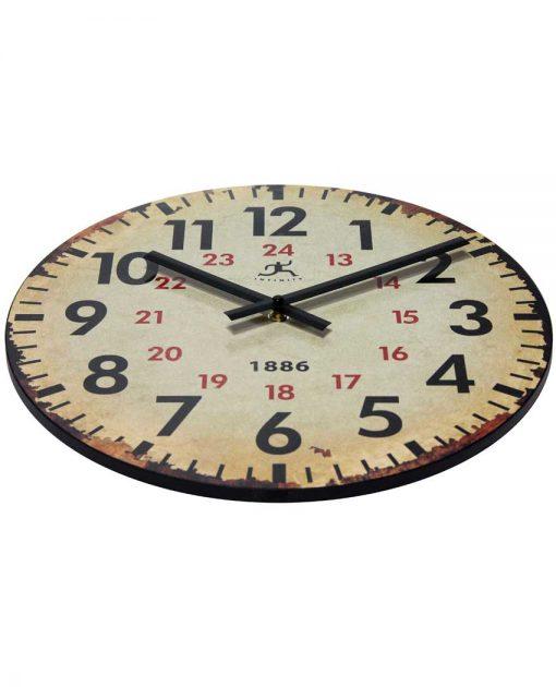 decorative wall clock beige