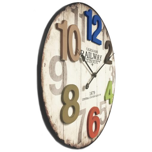 from right side wall clock 14 inch