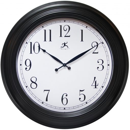 The Classic Black Wall Clock