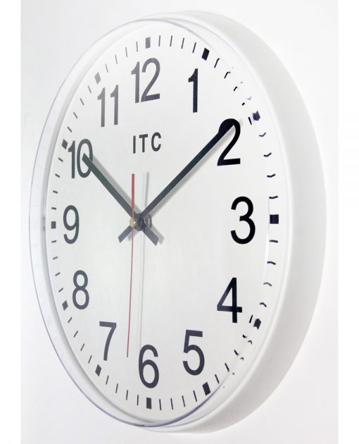 12 inch wall clock prosaic easy to read
