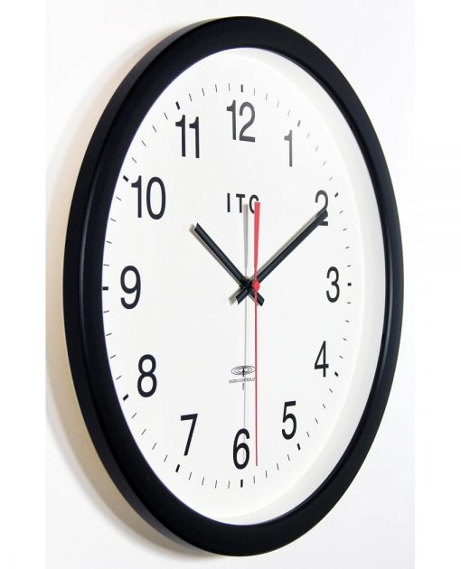 from right side large easy to read wall clock office 14 inch