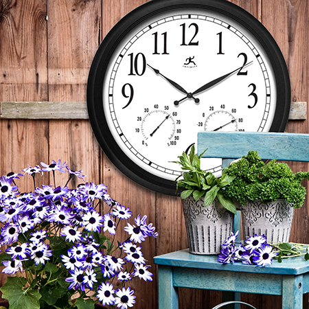 Clocks for patio and outdoor