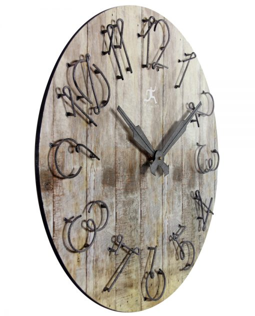 from right side wild west wall clock