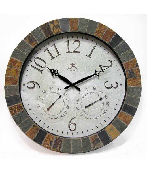 Inca Clock temperature thermometer humidity hygrometer