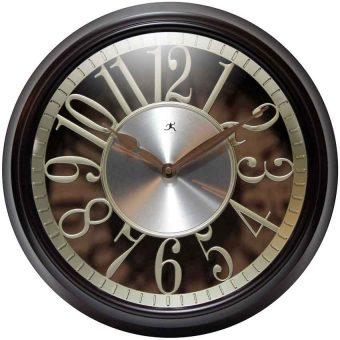 stylish office wall clock office brown