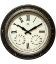 Forecaster Outdoor Clock