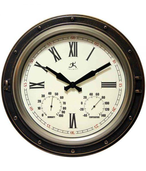 Forecaster Outdoor Clock