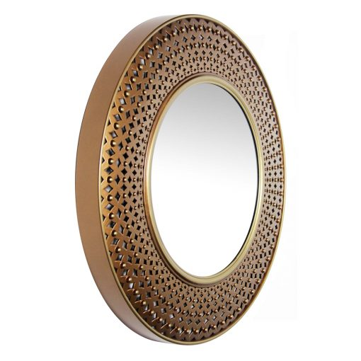 from right side wall mirror copper