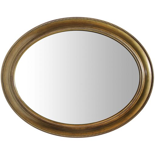 sonore gold antique wall mirror 30 inch