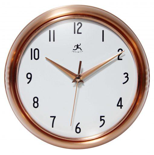 15422-Copper wall clock retro