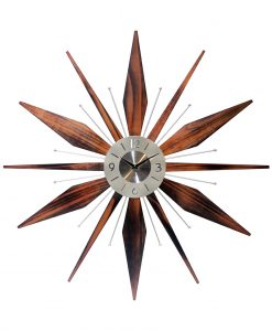 mid century modern large wall clock