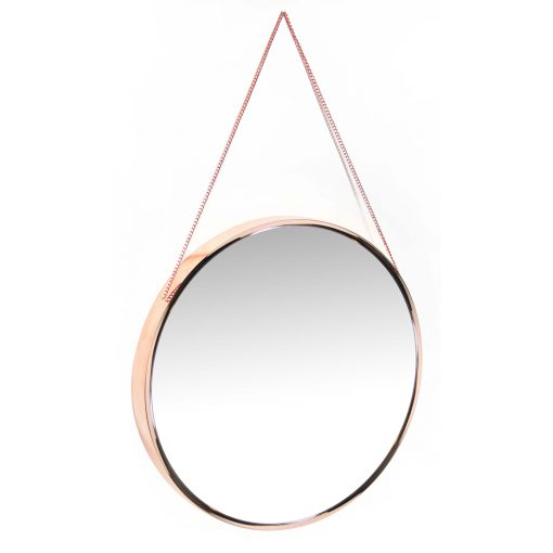from right side franc rose gold wall mirror
