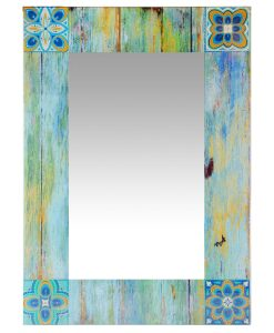 country mosaic wall mirror shabby chic