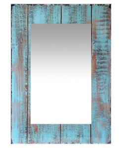 shabby chic rustic barn wall mirror