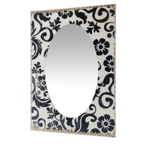 from left side decorative wall mirror floral