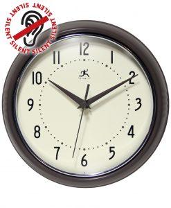 9.5 Inch Slate Iron Aluminum Wall Clock