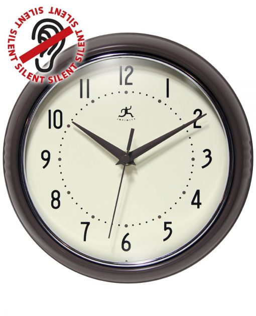 Iron Round Retro Wall Clock kitchen