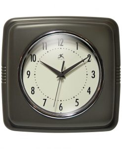 Square Retro Clock kitchen
