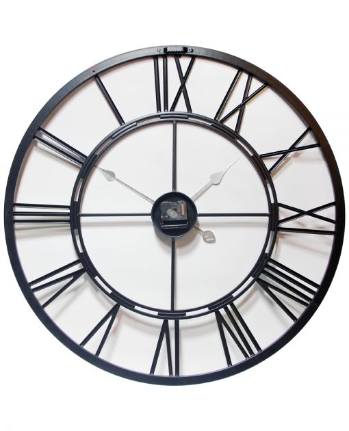 metal fusion back wall clock 28 inch