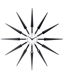 celeste wall clock front view 24 inch