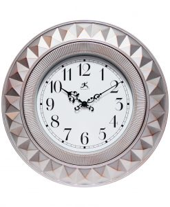 elegance rose gold clock